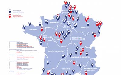 A França disponibiliza 78 locais-chave à mão