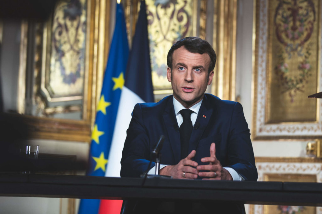 Emmanuel Macron - France measures to assist companies and workers impacted by Covid-19