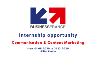 We are looking for an intern to work with communication & content marketing in Stockholm