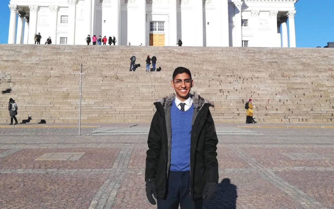 My V.I.E story: Dimitri Mohit, international trainee at Crédit Agricole CIB in Finland