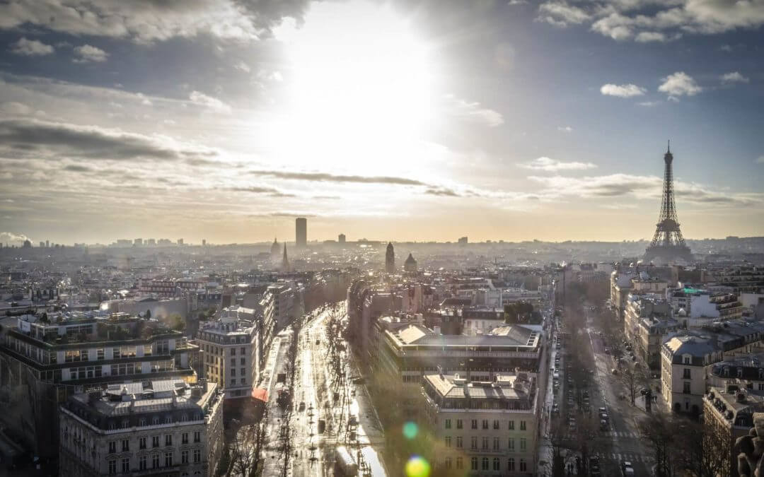 The city of light is the brightest spot for foreign investors