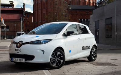 Renault is leading the electric car sharing systems in the Nordics