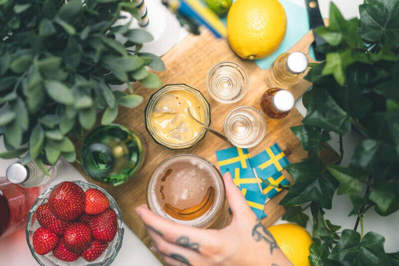Swedish creativity facing COVID-19 - Food and wine