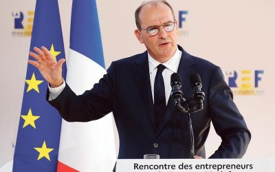French Prime Minister Jean Castex confirms a reduction in production taxes