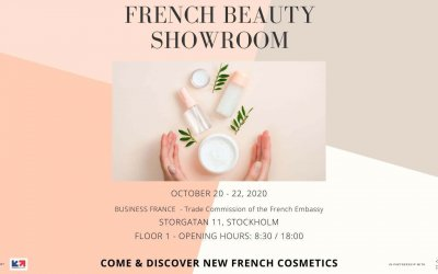 Come and discover French Beauty & Cosmetics brands during the French Beauty Days in Stockholm