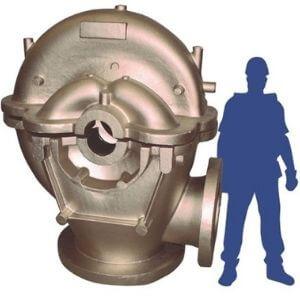 Split Pump aluminium bronze - Inoxyda