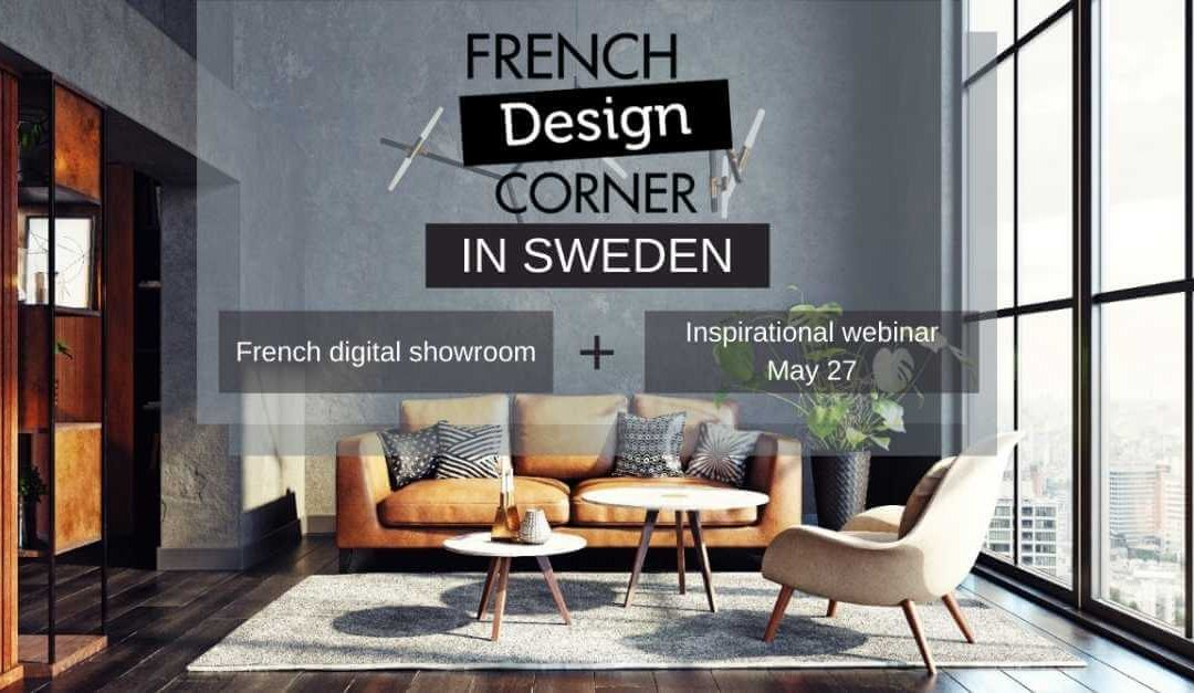 Save the dates: The French Design Corner is back… digitally!