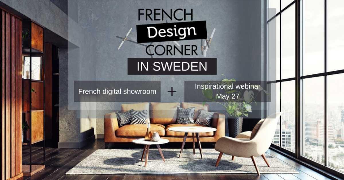 French Design Corner Sweden 2021 - Business France Nordic