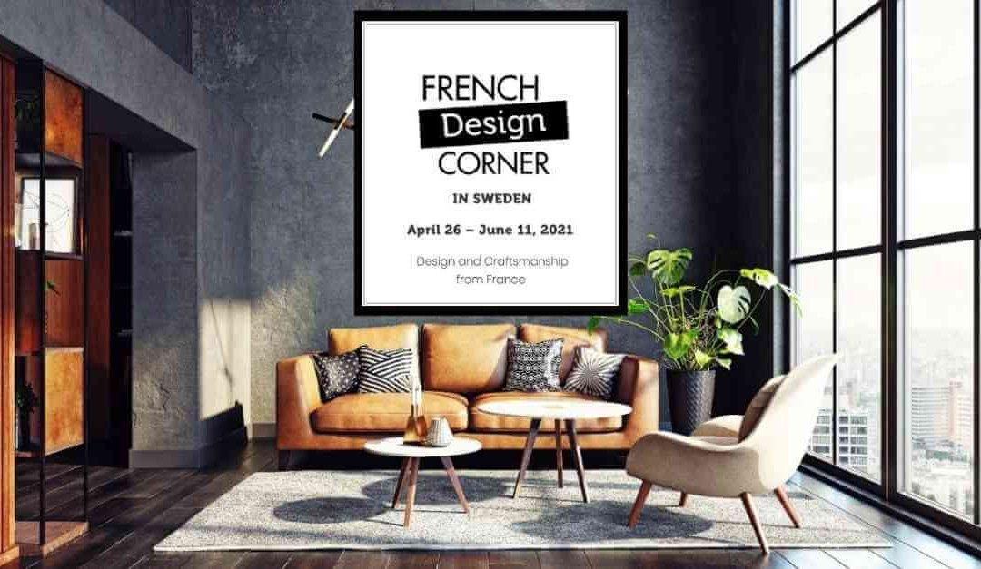 The French Design Corner in Sweden: a digital pop-up showroom & an inspirational webinar!