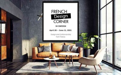 The French Design Corner in Sweden: a digital pop-up showroom & an inspirational webinar!