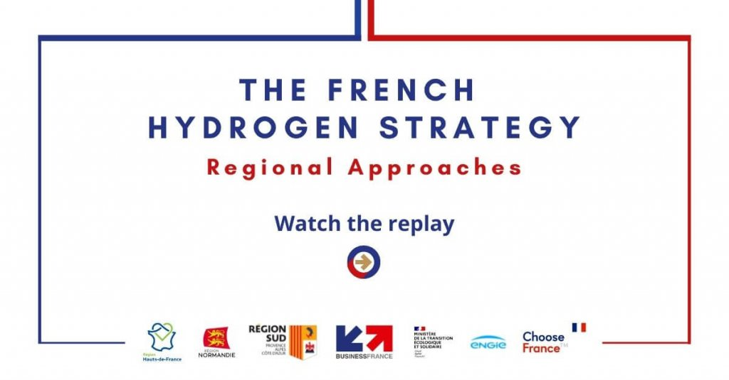 Replay webinar - The French hydrogen strategy - Regional approaches