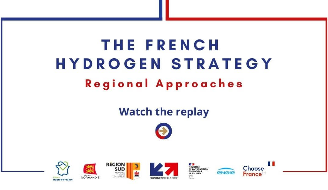 Watch the replay of our webinar on the French hydrogen strategy and its regional approaches
