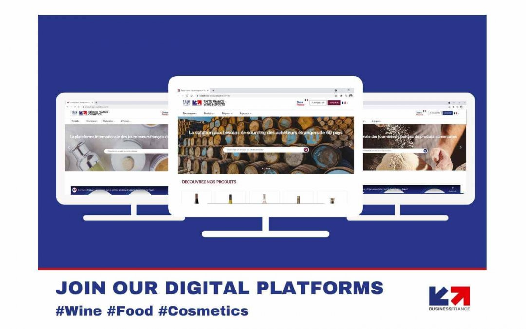 Business France brings you the best of French products with its new digital platforms