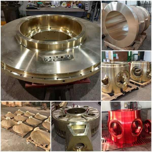 Aluminum bronze castings - Inoxyda
