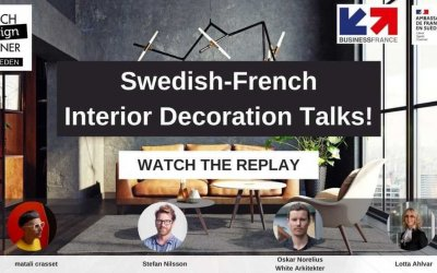 Key takeaways from the Swedish-French Interior Decoration talks!