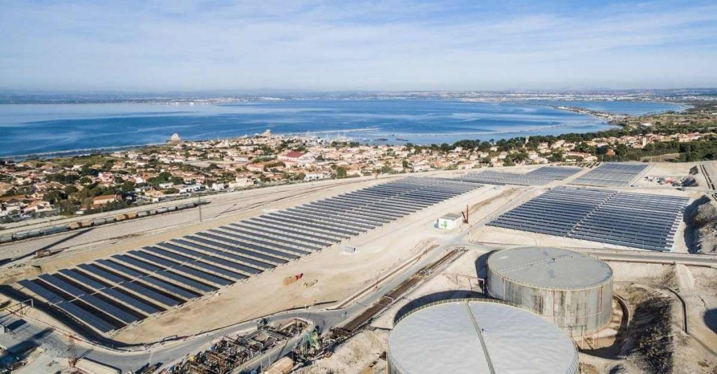 La Mede biorefinery in the South of France by Total